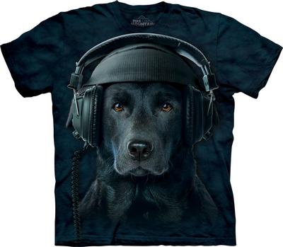 футболка с собакой