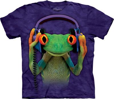 футболка с лягушкой