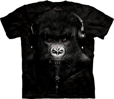 футболка с гориллой