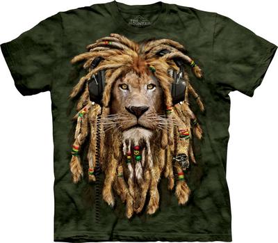 футболка с львом