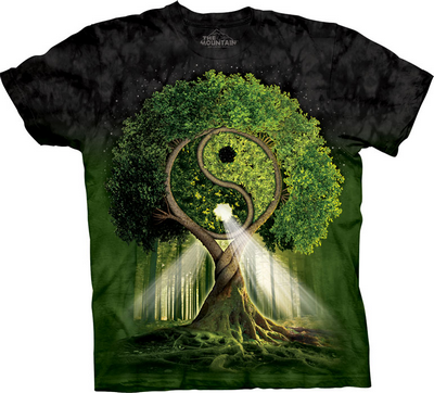 футболка с деревом